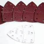 Lot de 50 feuilles de papier abrasif Prio (Velcro/Haft System) Grain 40/partiel/Papier abrasif/Feuilles abrasives/Papier abrasif de la marque BoH-Warenhandel image 1 produit