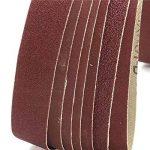 Lot de 7 bandes abrasives Ungfu Mall de2,5x 76,2cm - Bandes en oxyde d'aluminium avec grain de 80 à 1000 de la marque Ungfu-Mall image 2 produit