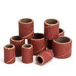 Majome 132Pcs Ponçage Manches abrasifs cylindres Grain 80avec mandrins Drum Kit de Ponçage de la marque Majome image 4 produit