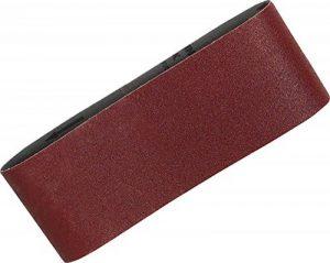Makita P-36893 Lot de 5 bandes abrasives 100 x 610 mm à grain grossier 60 Rouge de la marque Makita image 0 produit