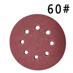 Maveek 50pièces 8trous Disques abrasifs Grain 6012,7cm Scratch et Assortiment de papier abrasif pour ponceuse orbitale de la marque Maveek image 0 produit