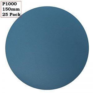 Maxidetail Ad9165Disques abrasifs en oxyde d'aluminium, crochet et boucle. 150mm/Grain P1000/Lot de 25 de la marque MaxiDetail image 0 produit