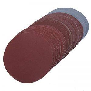 Mélange Grain 75Mm-80mm 7,6cm Grain 80010001200150020003000Disques abrasifs Crochet Loop Disques pour papier abrasif papier de verre Sable Sheet 30pcs/lot de la marque Naitesi Tool image 0 produit