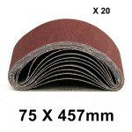 MultiWare Bandes Abrasives 75*457mm Grain 40 60 80 120 de la marque MultiWare image 1 produit