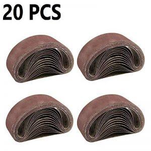 MultiWare Ponceuse À Bande Bande Abrasive 75x533cm Grain 40 60 80 120 de la marque MultiWare image 0 produit