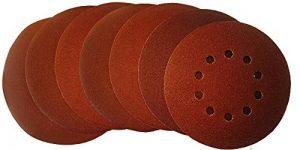 MyWork professional tools abrasifs à 10 trous disques abrasifs, diamètre : 225 mm-grain 240-lot de 25-22560MW - 240 de la marque MyWork-Professional-Tools image 0 produit