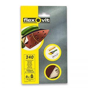 Papier abrasif Velcro 102x152mm (6unidades), marron de la marque Flexovit image 0 produit