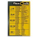 Papier abrasif Velcro 102x152mm (6unidades), marron de la marque Flexovit image 1 produit