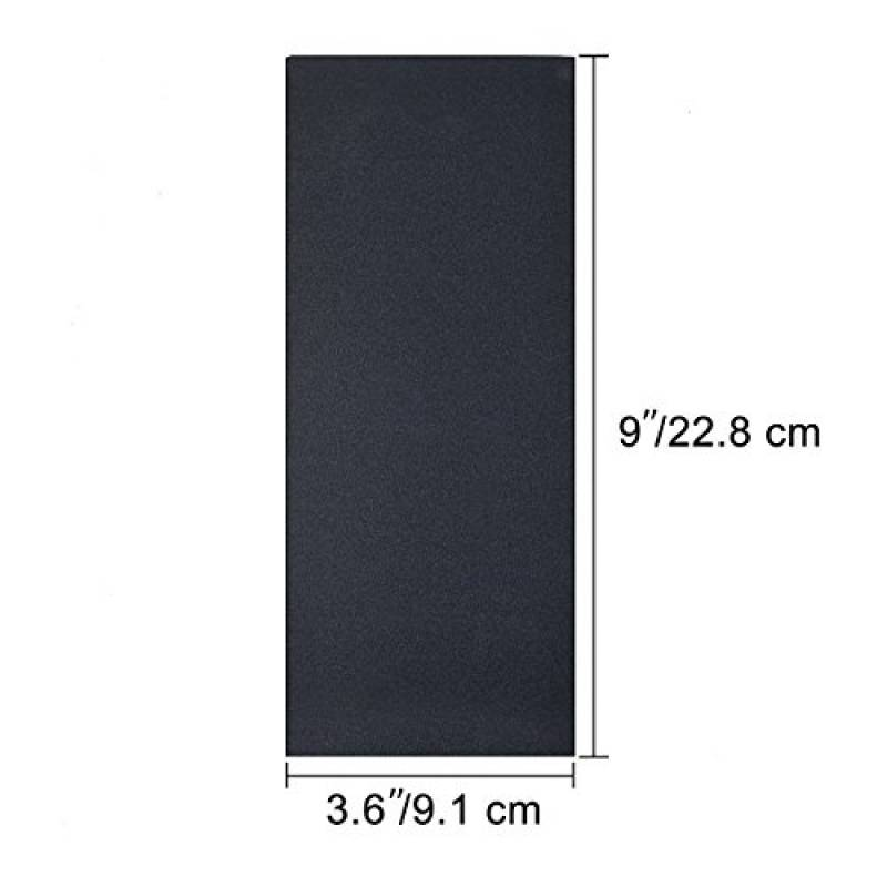 3 x 10 m long sable ROULEAUX DE PAPIER oxyde d/'aluminium Fin Moyen Grossier Grade Grit