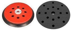 Plateau de ponçage dur pour Festool EQ - ETS - LEX - WTS - RO150 – Disques de ponçage à 17 trous – Velcro - 8+6+1 trous – NOUVEAU de la marque DFS image 0 produit