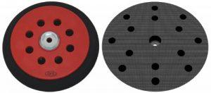 Plateau de ponçage dur pour Festool RO150 – Disques de ponçage à 15 trous – Velcro - 8+6+1 trous – NOUVEAU de la marque DFS image 0 produit