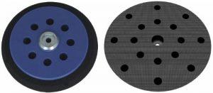 Plateau de ponçage dur pour Makita BO6030 BO6040 – Disques de ponçage à 17 trous – Velcro - 8+8+1 trous – NOUVEAU de la marque DFS image 0 produit