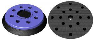 Plateau pour ponceuse festool FEQ FastFix Velcro Ø 150mm–avec 8+ 8+ 1-fori Disque abrasif–Doux Moyen ou dur–au choix–DFS de la marque DFS image 0 produit