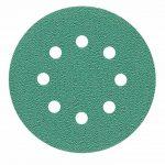 Ponceuse excentrique 125mm Green Disques abrasifs Assortiment Lot de 50disques P2000P1500P1200P1000P800, 8Trous papier abrasif velcro de la marque StickandShine image 2 produit