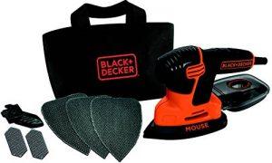 Ponceuse Mouse 3 Accessoires et avec sac souple de la marque Black-Decker image 0 produit