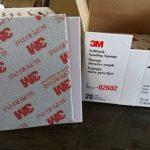 Éponges de ponçage abrasives souples 3M 2602 (cinq pièces). Gamme, catégorie 500#-600#. de la marque GB-Materials image 3 produit