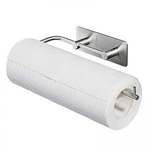 Queta Porte-Rouleau de Papier Toilette Cuisine 3M Adhésif en Acier Inoxydable Support de Papier Hygiénique de la marque Queta image 0 produit