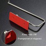 Queta Porte-Rouleau de Papier Toilette Cuisine 3M Adhésif en Acier Inoxydable Support de Papier Hygiénique de la marque Queta image 4 produit