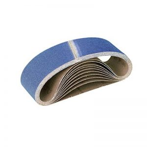 RETOL 10 bandes abrasives, 610 x 100 mm, G120, p. ponceuses à bande portatives, corindon de zirconium de la marque RETOL image 0 produit