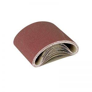 RETOL 10 manchons abrasifs, 551 x 200 mm, G80, p. ponceuses à parquet à bande, corindon normal de la marque RETOL image 0 produit