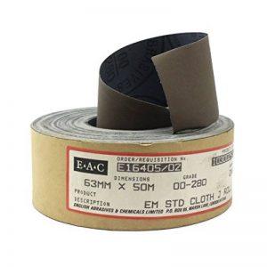 Rouleau de polissage émeri EAC - 63mm x 50m Qualité: 00-280. de la marque High 5 image 0 produit