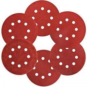 S&R Disque de Ponçage Papier Abrasif Velcro Ø 225 mm. Jeu de 10 Disques - Grain 180 de la marque S-R image 0 produit