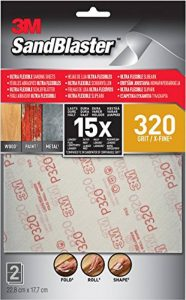 SandBlaster feuilles abrasives Ultra flexibles, gris, gris, 28320SBE de la marque SandBlaster image 0 produit