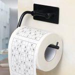 Sayayo-EG503M-B-Dévidoir de papier-toilette 3M adhésif en acier inoxydable noir mat de la marque SAYAYO image 1 produit