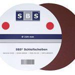 SBS Disques de Ponçage Pliables Diamètre 225 [Pack 2x 30] de la marque SBS image 3 produit
