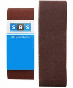 SBS Lot de 10bandes abrasives 75x 533, K 60, bandes ponceuse à bande de la marque MO-Werkzeughandel ® image 0 produit