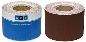 SBS Papier abrasif Rouleau 115 mm x 10 m Grain 80 Oxyde d'aluminium rouleau de la marque SBS - Schlößer Baustoffe image 0 produit