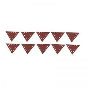 Scheppach 7903800604Accessoire pour ponceuse/Kit Papier abrasif Ponceuse Triangulaire, compatible avec le Sec ds210, grain 150, 280x 280x 280mm de la marque Scheppach image 0 produit