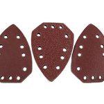 Set de 30papiers abrasifs pour le bois - Convient pour la ponceuse manuelle Parkside Lidl - Modèles: voir la description de l'article de la marque Grizzly-Tools image 1 produit