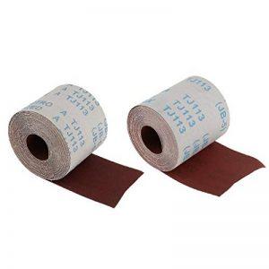 Sharplace 10 Mètres De Toile Abrasive Rouleau De Toile Émeri 320 Grains + 120 Grains de la marque Sharplace image 0 produit