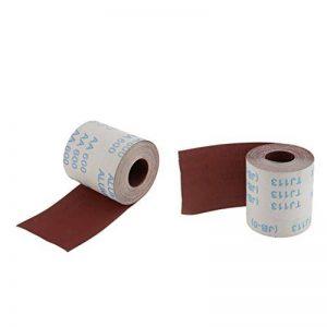 Sharplace 2 Pcs 10 Mètres Outil Chiffon Abrasif Rouleau Tissu émeri 320 Grains Et 600 Grains de la marque Sharplace image 0 produit