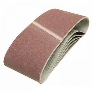 Silverline 196070 5 bandes papier de verre 100 x 610 mm Grain 60 de la marque Silverline image 0 produit