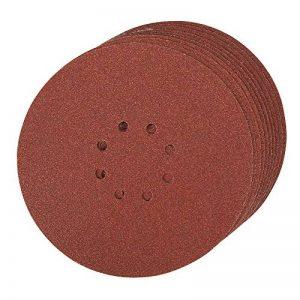 Silverline 274762 Lot de 10 Disques abrasifs perforés auto-agrippant 225 mm Grain 60 de la marque Silverline image 0 produit
