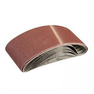 Silverline 363320 5 bandes abrasives 100 x 610 mm Grain 80 de la marque Silverline image 0 produit