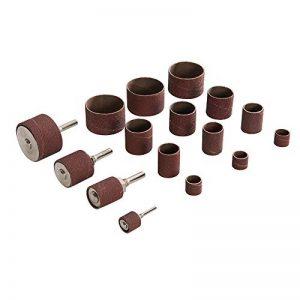 Silverline 381141 Ensemble de tambours de sablage 20 pcs ø 13, 19, 25, 38 mm de la marque Silverline image 0 produit