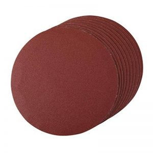 Silverline - 427660 - Disques abrasifs perforés auto-agrippant - Grain 120 - 180 mm - Pack de 10 de la marque Silverline image 0 produit