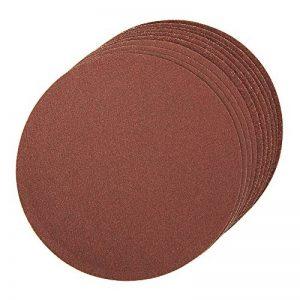 Silverline 787856 Lot de 10 disques abrasifs autocollants 150mm grains assortis Marron de la marque Silverline image 0 produit