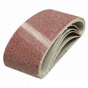 Silverline 807650 5 bandes abrasives 65 x 410 mm Grain 80 de la marque Silverline image 0 produit