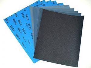 Starcke Ersta Lot de 10 feuilles de papier de verre grains mixtes 240/600/1000/1500/2000 Feuilles de 230 x 280 mm de la marque STARCKE-ERSTA-Abrasives image 0 produit