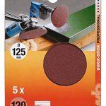 Stick KWB Disques abrasifs rapide pour bois et métal, autocollant, diamètre 125mm, 488–330 de la marque kwb image 1 produit