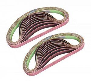 Tivoly - Lot de 24 bandes abrasives pour ponceuses électriques 13 x 454 mm - Compatible Black + Decker de la marque Tivoly image 0 produit