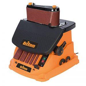 Triton TSPST450 Ponceuse à bande et à cylindre oscillant 2-en-1, 450 W Orange de la marque Triton image 0 produit