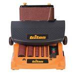 Triton TSPST450 Ponceuse à bande et à cylindre oscillant 2-en-1, 450 W Orange de la marque Triton image 1 produit