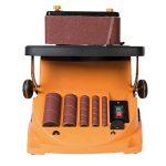 Triton TSPST450 Ponceuse à bande et à cylindre oscillant 2-en-1, 450 W Orange de la marque Triton image 2 produit