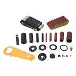 Triton TSPST450 Ponceuse à bande et à cylindre oscillant 2-en-1, 450 W Orange de la marque Triton image 4 produit