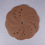 UEETEK 40pcs 8 pouce 5 trou poncer disques ronds 60 80 120 210 Grit pour Bosch PEX 220/300 Ponceuse orbitale 125mm de la marque UEETEK image 2 produit